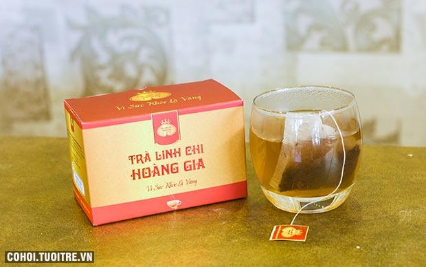Thưởng thức tách trà linh chi nhanh gọn,như ý chỉ với 7 – 10 phút