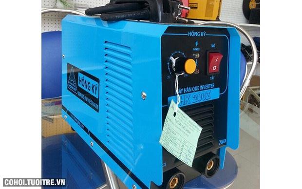 Tiết kiệm điện với máy hàn điện tử Hồng Ký HK 200Z