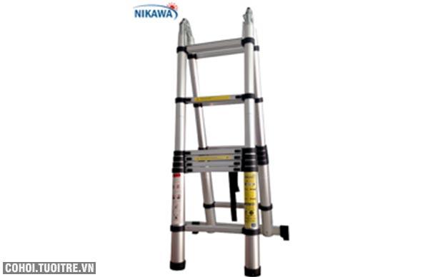 Nikawa NK 44AI, giá tốt từ đại lý thang nhôm Nikawa