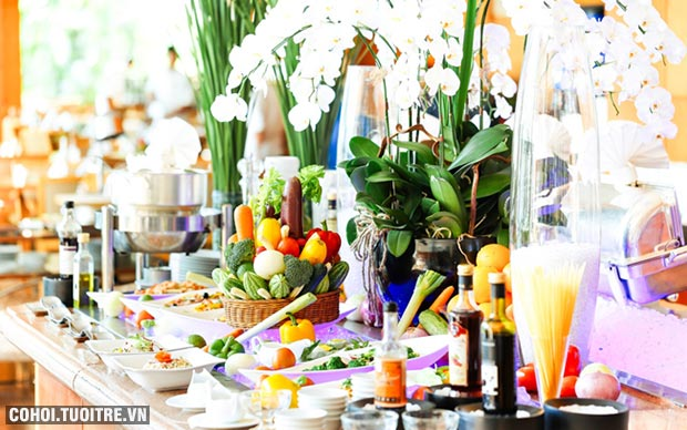 Ẩm thực tháng 8 tại khách sạn 5 sao Lotte Legend Saigon