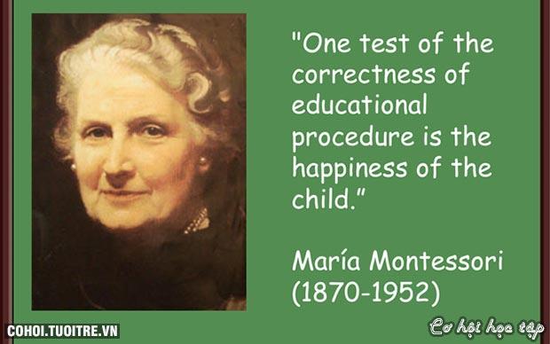 Khóa học nhập môn phương pháp giáo dục Montessori - (AMI) 2016
