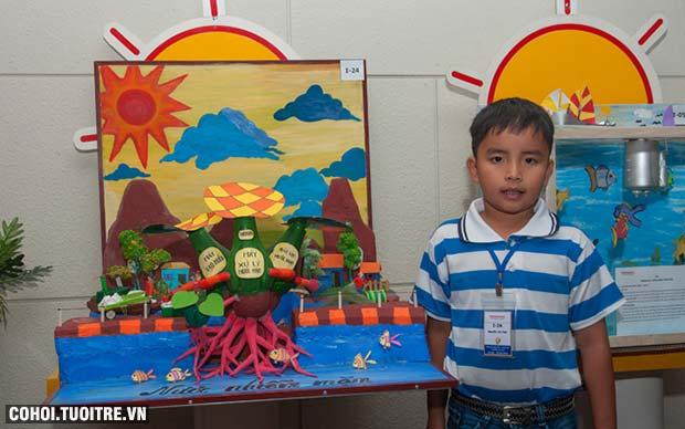 Sáng tạo, bản lĩnh với cuộc thi Ý tưởng Trẻ thơ