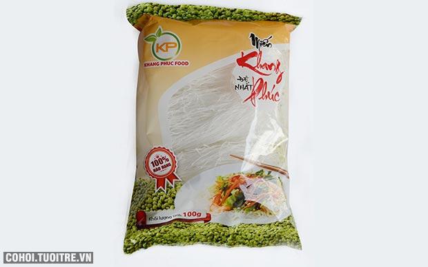 Món ngon từ miến đậu xanh Khang Phúc