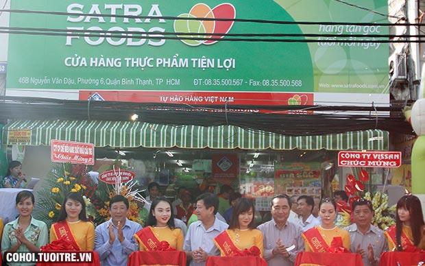 Khai trương cửa hàng Satrafoods thứ 83 quận Bình Thạnh
