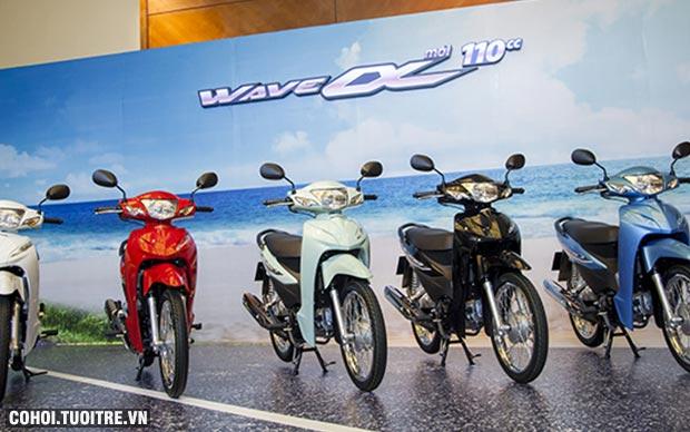 Honda VN giới thiệu Wave Alpha 110cc phiên bản hoàn toàn mới