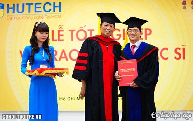 Hutech tuyển sinh 11 chuyên ngành trình độ thạc sĩ