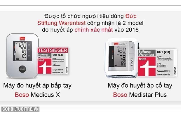 Máy đo huyết áp của Đức được tin dùng hiện nay
