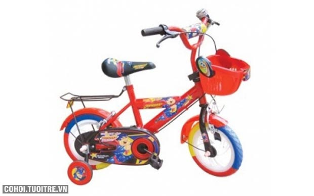 Xe đạp trẻ em Nhựa Chợ Lớn M674-X2B - số 14 Người Nhện