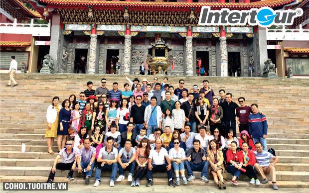 Tour Đài Loan, book liền tay, giảm triệu hai, còn 8,39 triệu