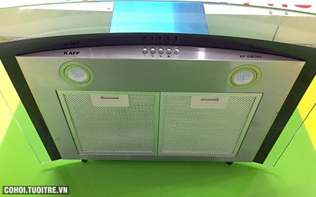 Máy hút mùi bếp kính cong 7 tấc KAFF KF-GB705