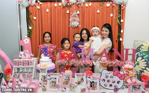 Cách tổ chức sinh nhật cho bé 1 tuổi