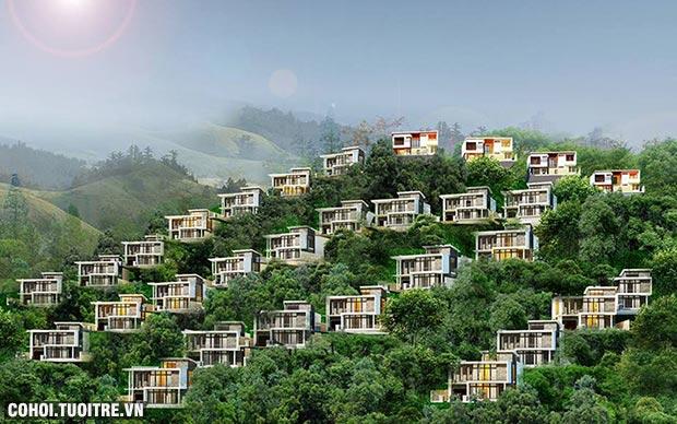 Ra mắt khu biệt thự chuẩn sống xanh mới tại Nha Trang