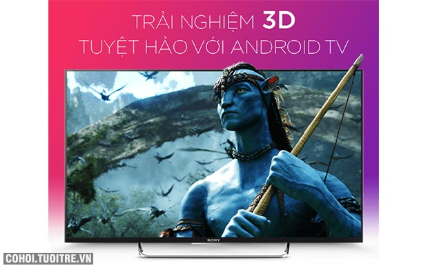 Smart tivi Sony 43 inch KDL - 43W800C Full HD