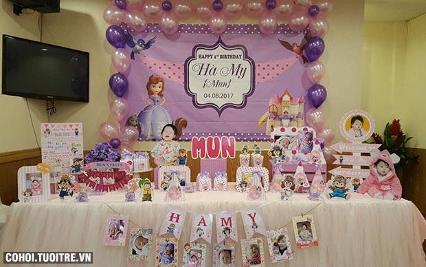 Mua phụ kiện sinh nhật bé gái