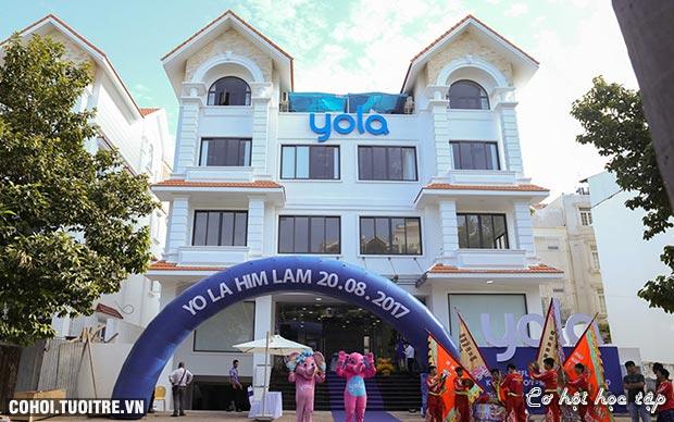 Yola khai trương trung tâm Anh ngữ tại Him Lam, quận 7