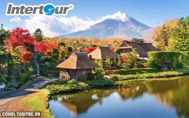 Trải nghiệm mùa thu lá đỏ Nhật Bản chỉ 21,9 triệu