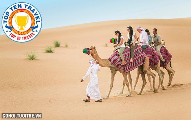 Du lịch Dubai, Abu Dhabi 5N4Đ giá 20,99 triệu