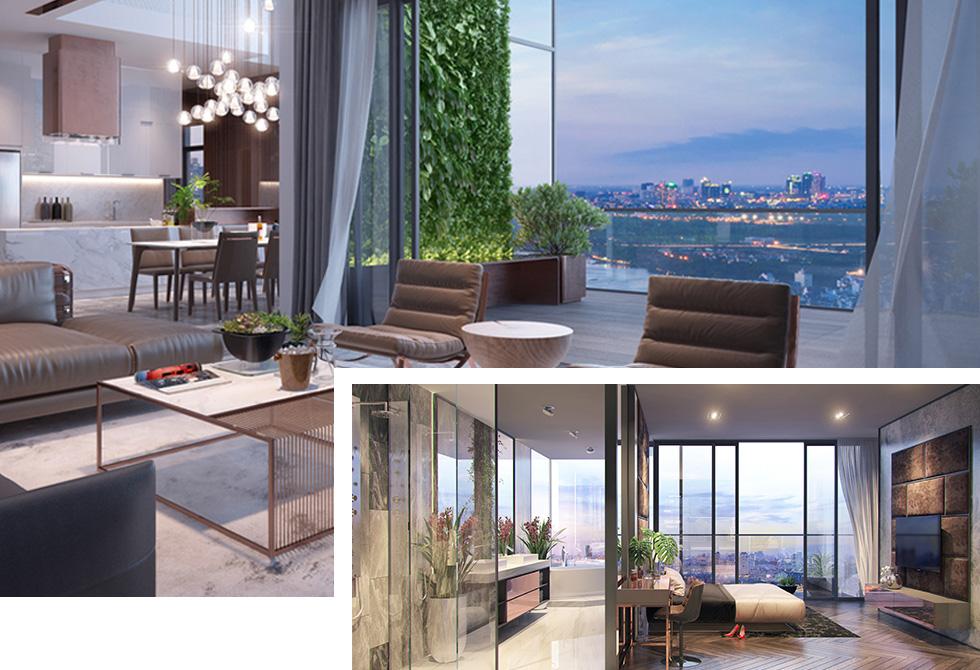 Các căn hộ Jamila đều có cửa sổ đón gió tự nhiên