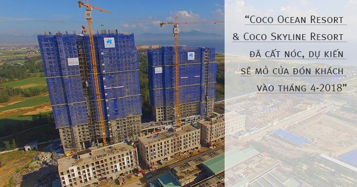 Condotel Cocobay dự kiến mở cửa đón khách vào T4-2018