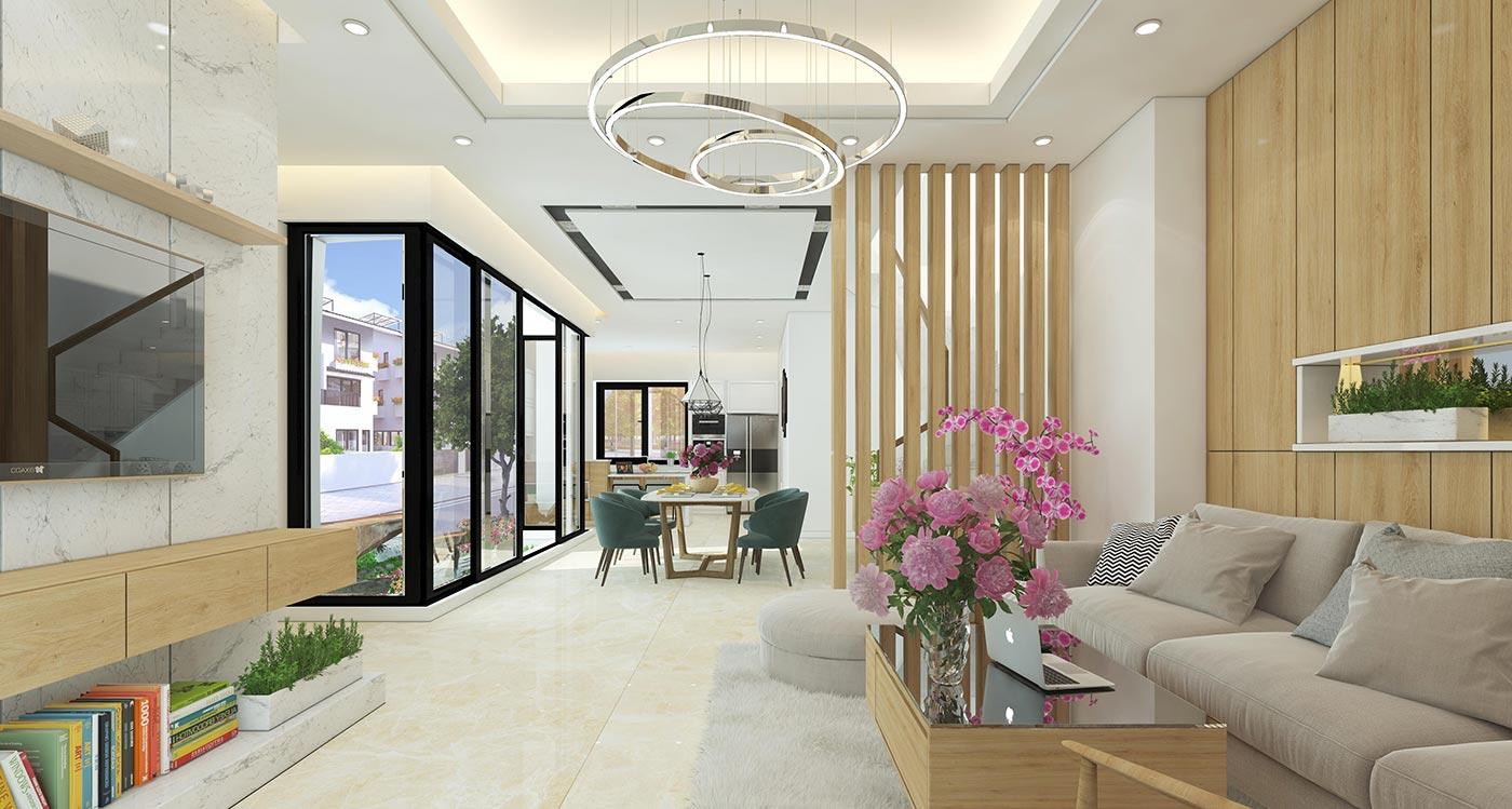 Những phong cách nội thất cuốn hút cho biệt thự thành phố