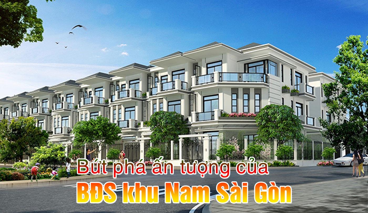 Bứt phá ấn tượng của BĐS khu Nam Sài Gòn