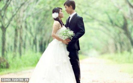 Chụp ảnh cưới ngoại cảnh trọn gói chỉ với 3,5 triệu đồng