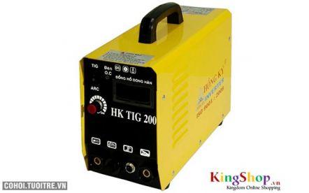 Máy hàn điện tử Hồng Ký Inverter HK TIG 200 - 220V - PK