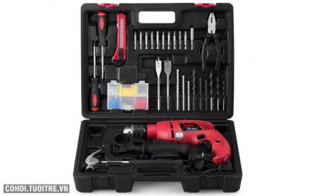 Máy khoan động lực Skil 6613 - Set 138 chi tiết