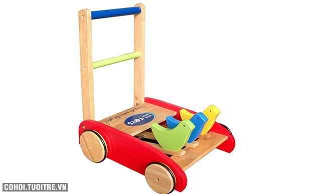 Xe tập đi bằng gỗ dành cho bé Winwintoys 60012K