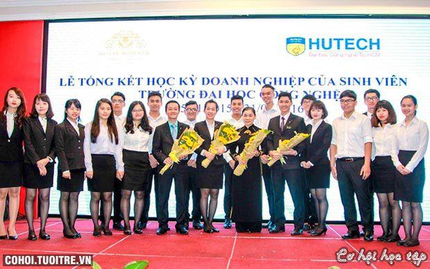 Đại học HUTECH liên tục triển khai Học kỳ doanh nghiệp