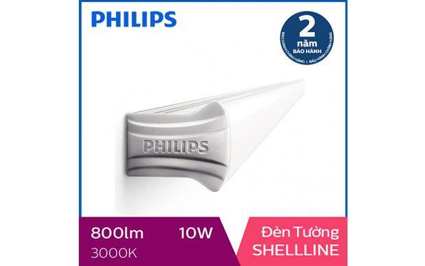 Đèn 6 tấc Philips LED Shellline 31173 10W 3000K, ánh sáng vàng
