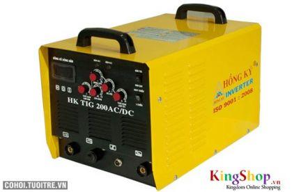 Máy hàn điện tử Hồng Ký Inverter HK TIG 200 - 220V (AC/DC)