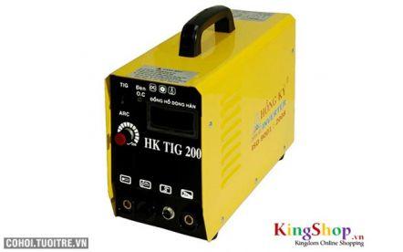 Máy hàn điện tử Hồng Ký Inverter HK TIG 200 - 220V (ARC)