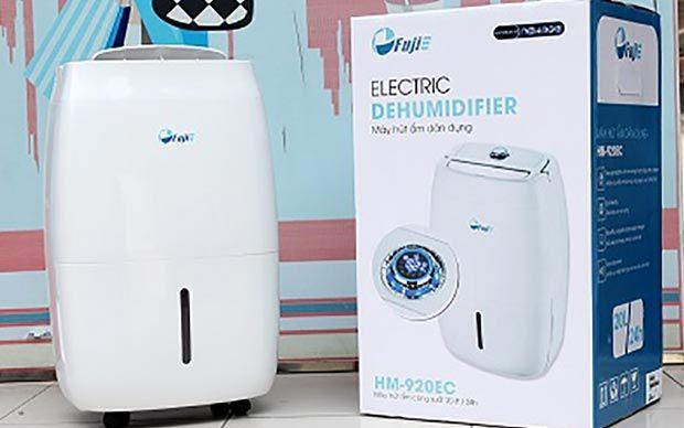 Máy hút ẩm phòng ngủ, văn phòng, gia đình FujiE HM-920EC