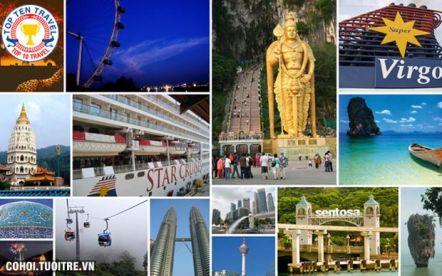 Tour du lịch Singapore - Malaysia hằng tuần