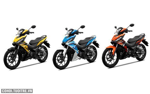 Honda Winner 150 bổ sung màu mới, trẻ trung và cá tính