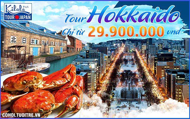 Tham quan thiên đường tuyết Hokkaido - Nhật Bản