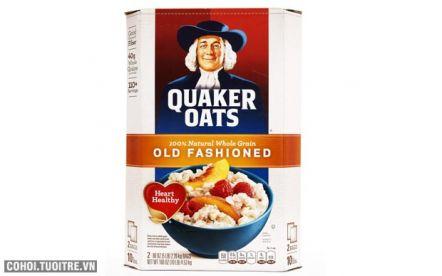 Bột yến mạch Quaker Oats chính hãng của Mỹ