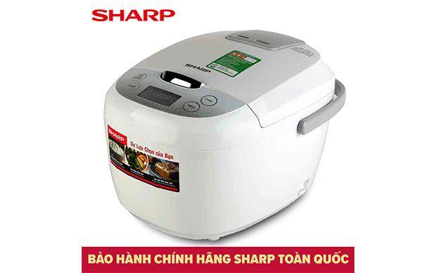 Xả kho nồi cơm điện tử Sharp KS-COM185EV-SL giá từ 985.000đ