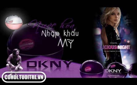Sở hữu nước hoa DKNY với 2 dòng sản phẩm dành cho phái nữ