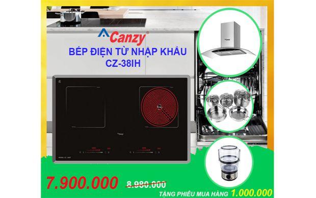 Xả kho bếp điện từ Canzy CZ-38IH