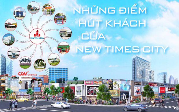 Những điểm hút khách của New Times City