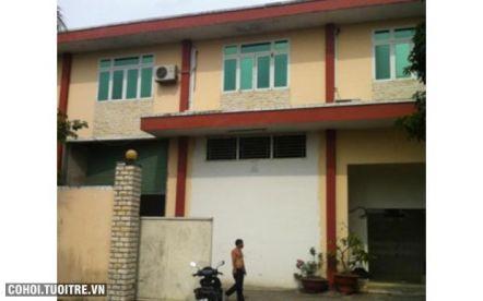 Nhà xưởng phường An Phú Đông quận 12
