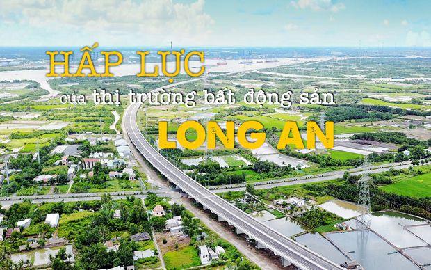 Hấp lực của thị trường bất động sản Long An