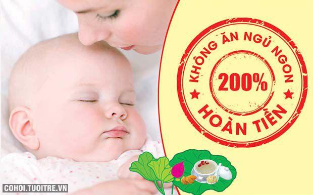 KIDsNEST Tâm Sen - không ăn ngủ ngon, hoàn 200% tiền