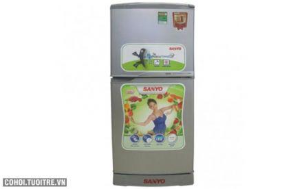 Tủ lạnh Sanyo công nghệ diệt khuẩn, khử mùi