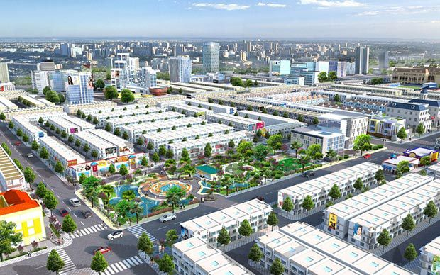 Mega City 2 đốt nóng thị trường đất nền
