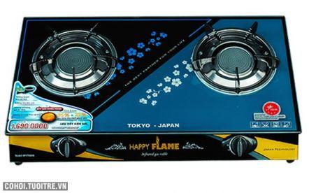 Bếp gas hồng ngoại Happy Flame HP-7790HN