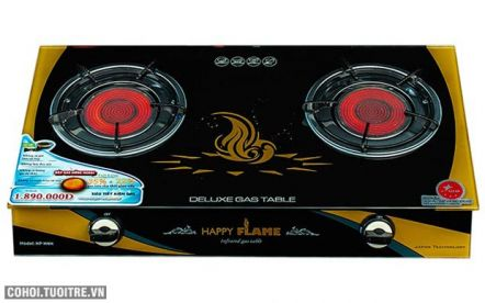 Bếp gas hồng ngoại Happy Flame HP-HNH