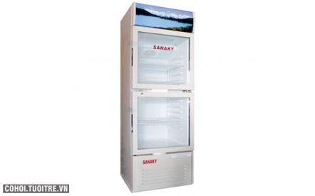 Tủ mát 2 cửa Sanaky VH 250W  ( 250 lít)